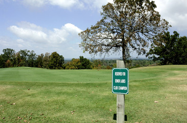 Reserved Parking For Exclusive Senior Ladies Champion