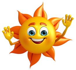 Sun Character is helllo