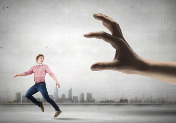 Running from hand