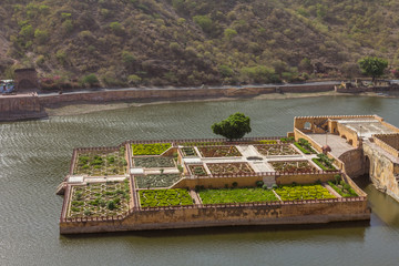 Floating Garden in Jaipur Fort Jaipur India