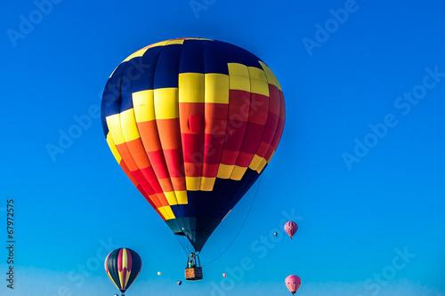 In de dag Ballon Hot Air Balloon Race