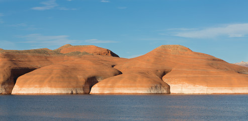 Lake Powell Hills in Sun