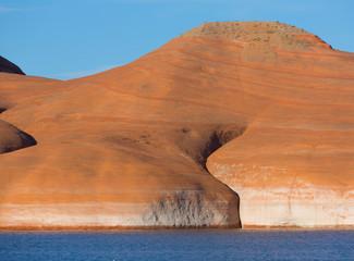 Lake Powell Rock Formation Closeup