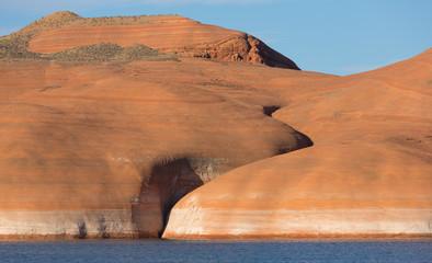 Lake Powell Rock Formation Closeup 2