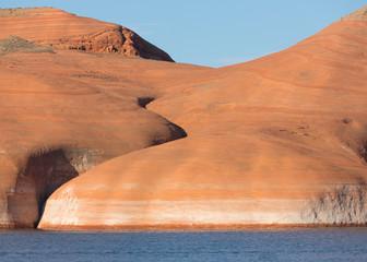 Lake Powell Rock Formation Closeup 3