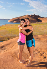 Best Friends at Lake Powell
