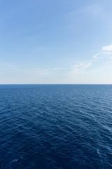 Horizont im Mittelmeer