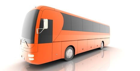 travel concept bus