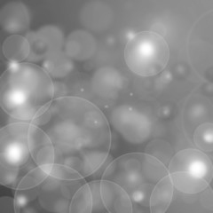 white bokeh abstract light background