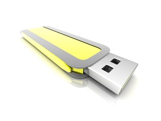 concept USB flash drive
