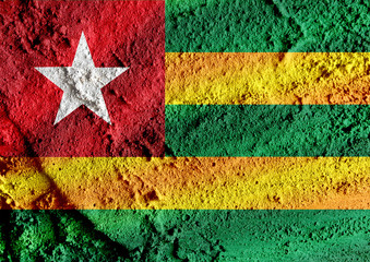 Togo flag themes idea design