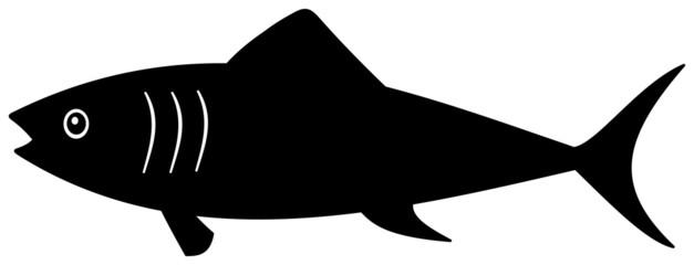 a black shadow fish