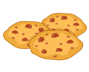 cookies isolated illustration