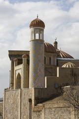 The medieval  Hazrat Hizr mosque in Samarkand, Uzbekistan