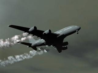 Aircraft - 3D render