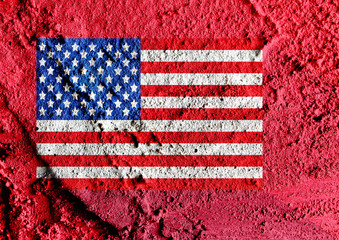 American Flag idea illustration