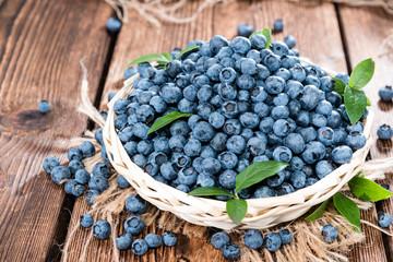 Fresh harvested Blueberries