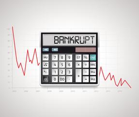 Calculator - bankruptcy