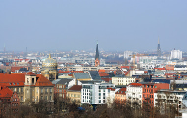 Berlin and city centre.