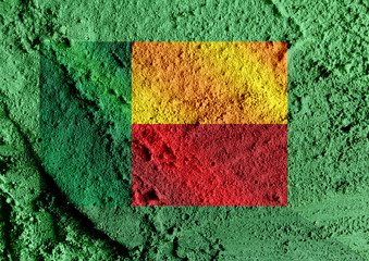 Benin flag themes idea design