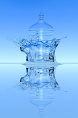 Water Splash Large Bottle
