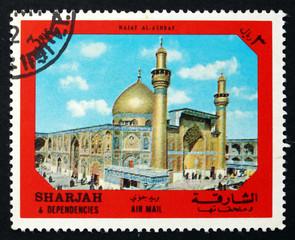 Postage stamp Spain 1972 Najaf al Ashraf