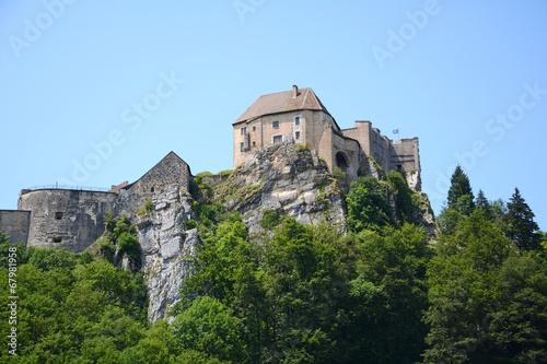 Papiers peints Fortification Château de Joux, La Cluse-et-Mijoux