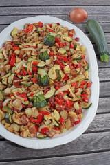 Zucchini - Salat