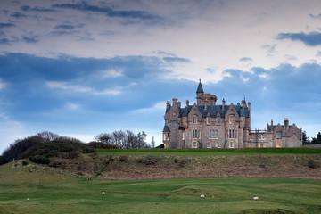 Glengorm Castle on the Isle of Mull