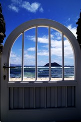 puerta playa