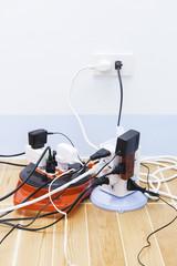 too many plug