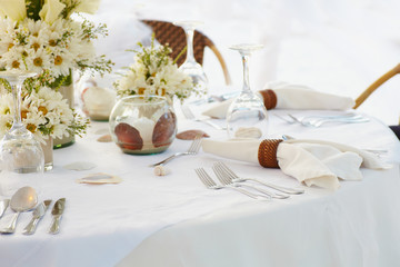 Wedding table a