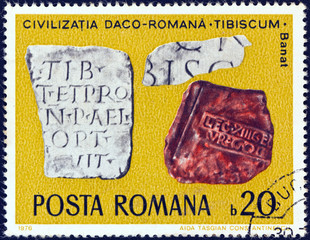 Inscribed Tablets, Tibiscum, Banat (Romania 1976)