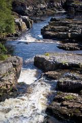 tra Tongue e Lochinver - torrente