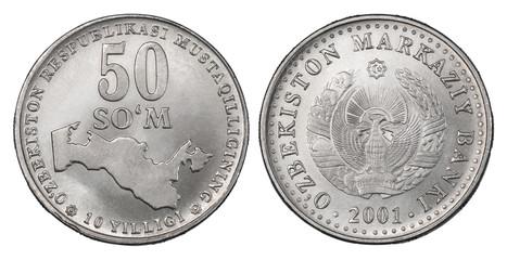 50 Uzbek som