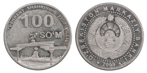 100 Uzbek som