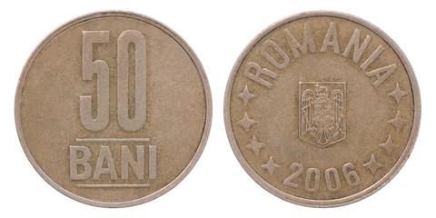 50 Romania bani coin