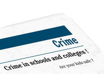 newspaper - crime