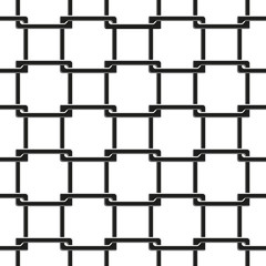 seamless pattern of chain fence