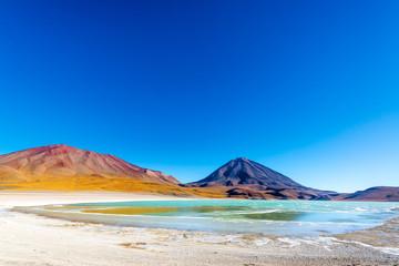 Licancabur Volcano Wide Angle