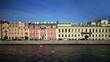 View of the Fontanka river in St. Petersburg