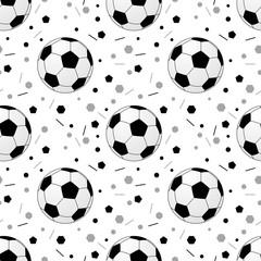 Footballs pattern