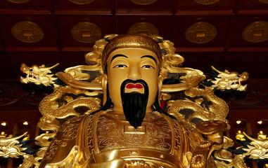 Statue of Xuanzang. Great Wild Goose Pagoda, Xian