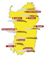 Coltelli della Sardegna