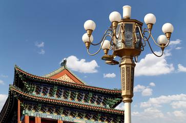Zhengyangmen Gate (Qianmen). beijing