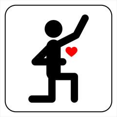 Proposal symbol, vector