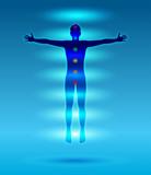 corpo astrale, meditazione poster