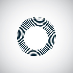 abstract circle icon