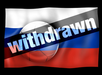 Football Russia Withdrawn