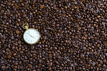 Watches and coffee beans